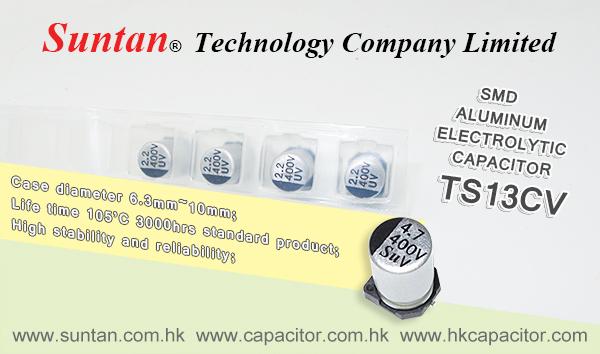 Suntan's SMD Aluminum Electrolytic Capacitor – TS13CV